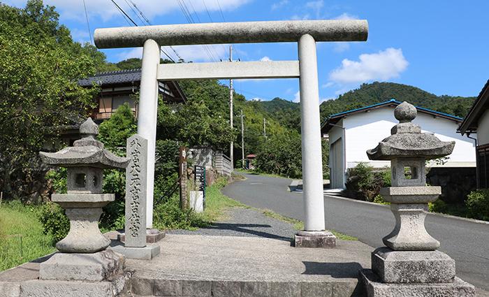 籠神社奥宮眞井神社