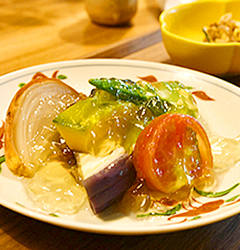 和久傳の森料理01